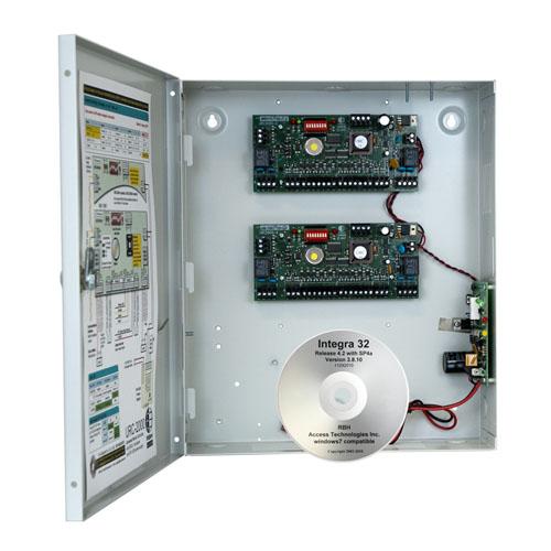 Centrala control acces RBH URC2004BIDI, 4 usi, 3000 carduri, 3000 evenimente imagine