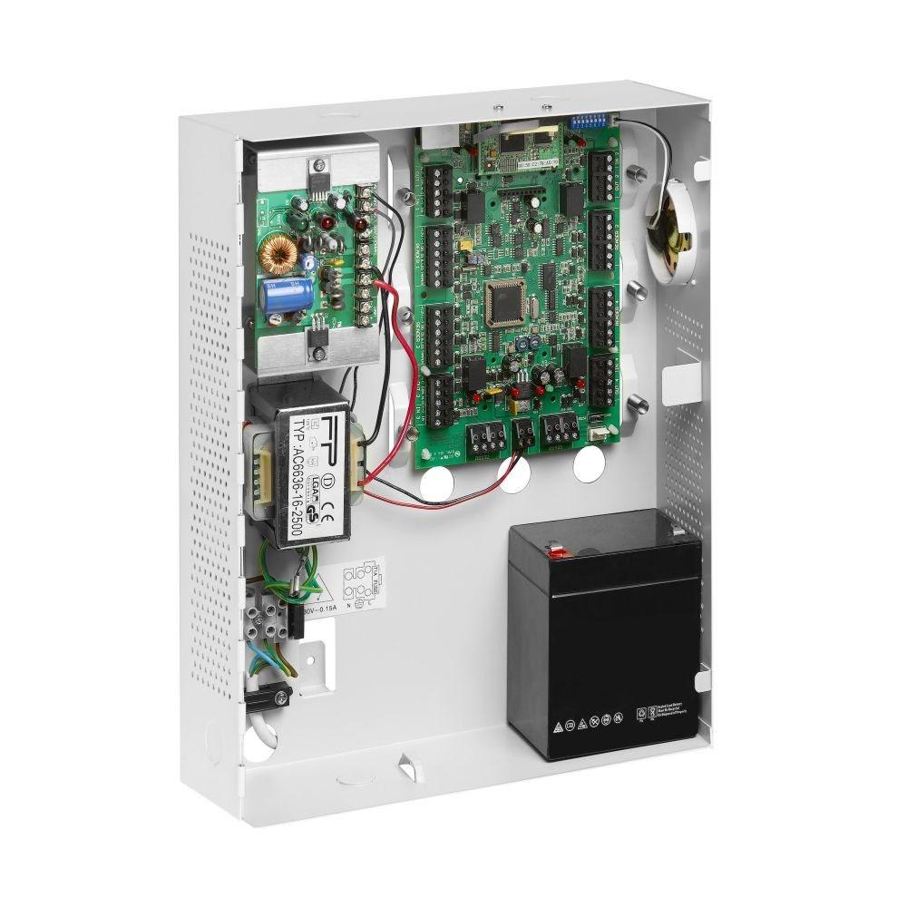 Centrala control acces TCP/IP Rosslare AC-215IP-BE, 2 cititoare, 30000 utilizatori, 20000 evenimente imagine