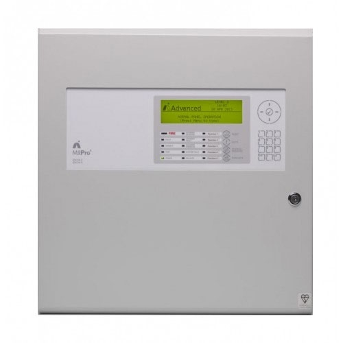 Centrala de incendiu adresabila Advanced MxPro4 MX-4201/D, 1-2 bucle, 1 card, carcasa adanca imagine