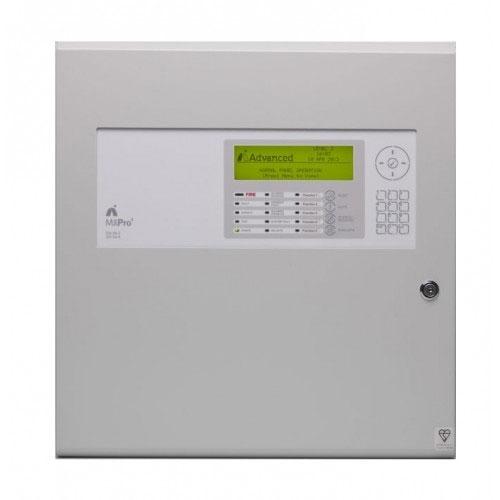 Centrala de incendiu adresabila Advanced MxPro4 MX-4202/D, 1-2 bucle, 2 carduri, carcasa adanca imagine