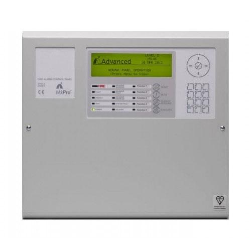 Centrala de incendiu adresabila Advanced MxPro4 MX-4100/L, 1 bucla, 100 zone incendiu, usa batanta imagine