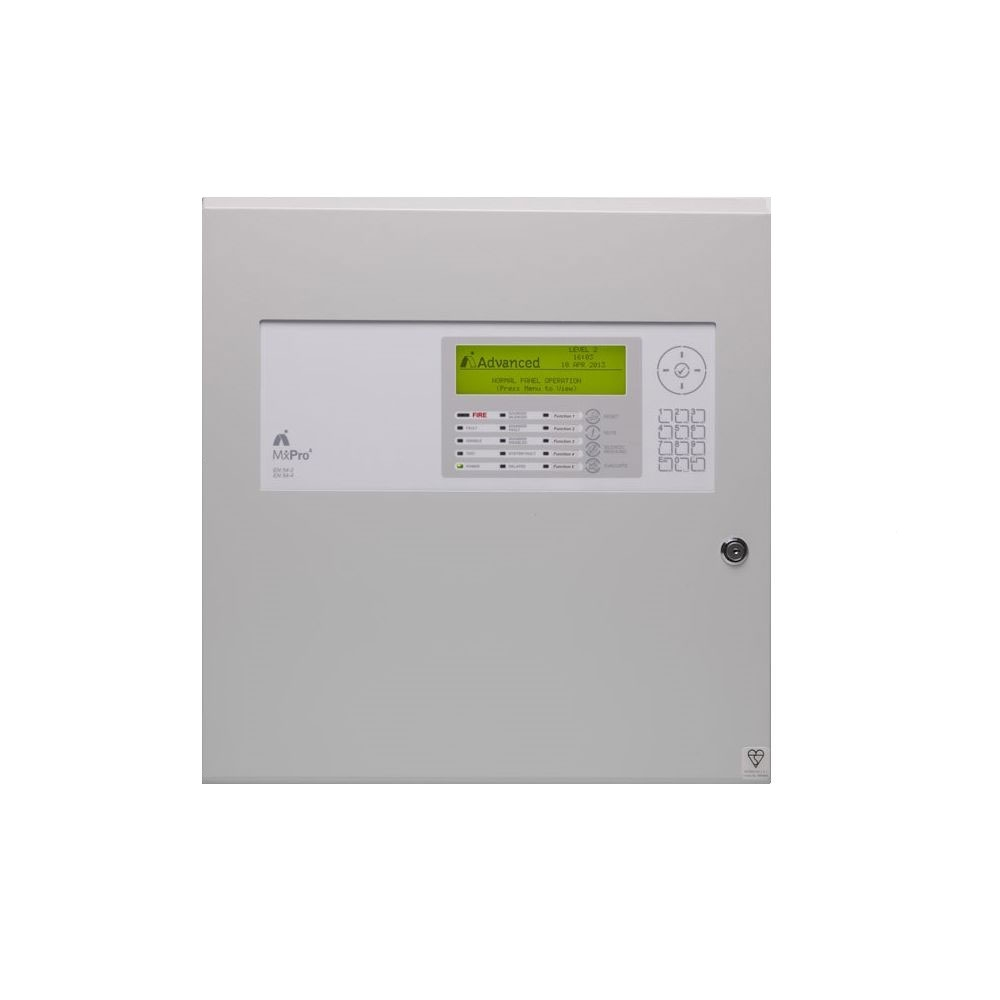 Centrala de incendiu adresabila Advanced MxPro4 MX-4404/D, 1-4 bucle, 4 carduri, carcasa adanca imagine