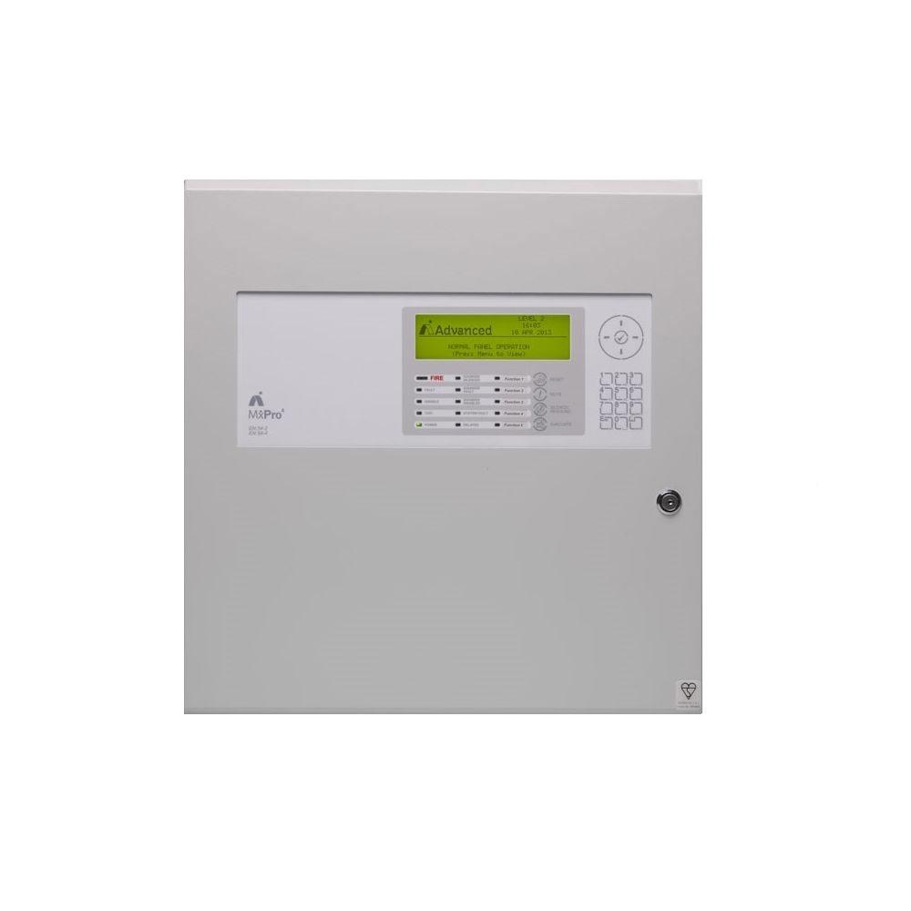 Centrala de incendiu adresabila Advanced MxPro4 MX-4402/D, 1-4 bucle, 2 carduri, carcasa adanca imagine