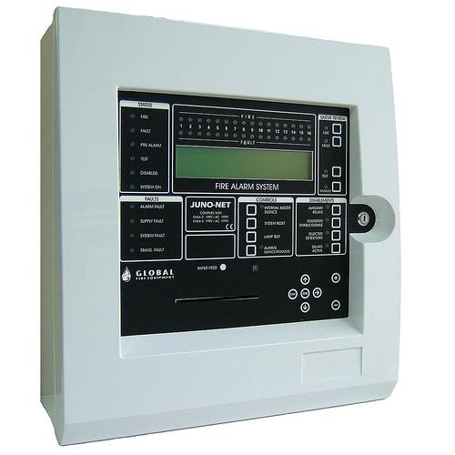 CENTRALA DE INCENDIU CU 384 ZONE GLOBAL FIRE J-NET-SC-002