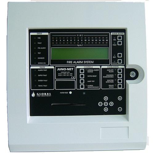 CENTRALA DE INCENDIU CU 384 ZONE GLOBAL FIRE J-NET-SC003