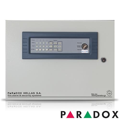 CENTRALA DE INCENDIU CU 8 ZONE PARADOX HELLAS MATRIX PH.MA.008.SB imagine