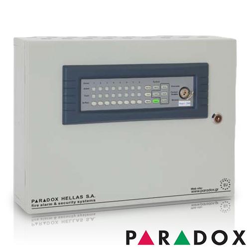 CENTRALA DE INCENDIU CU 4 ZONE PARADOX HELLAS MATRIX PH.MR.004.04 imagine