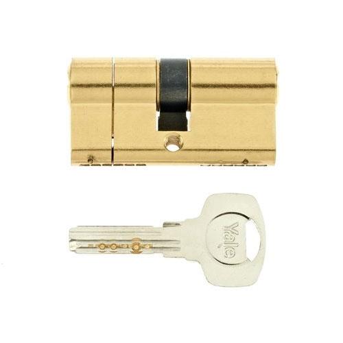 Cilindru break-secure patentat Yale 10-1552-3040-00-0201, 5 chei, 6 pini, alama