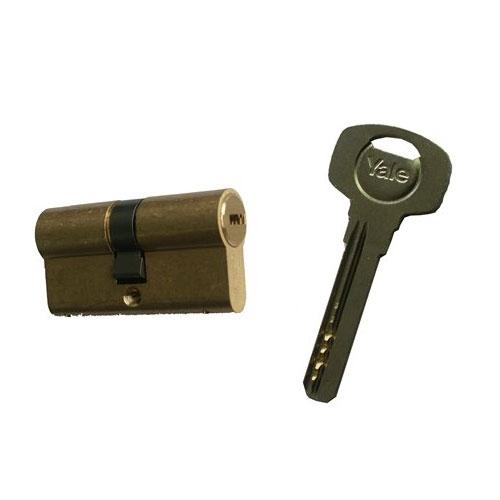 Cilindru de siguranta Yale 1000 A 01 CA, 5 chei, 6 pini imagine spy-shop.ro 2021
