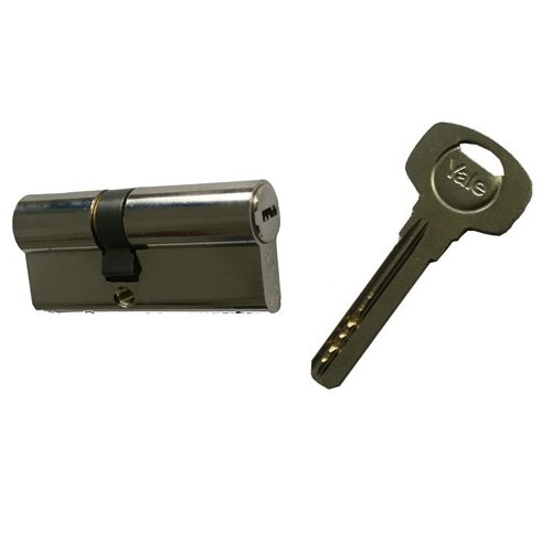 Cilindru de siguranta Yale 1000 A 01 CAN 30x45, 5 chei, 6 pini imagine spy-shop.ro 2021
