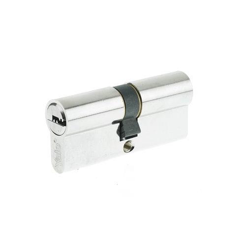 Cilindru siguranta patentat Yale 10-1802-3040-00-2201, 5 chei, 6 pini, nichel satinat imagine spy-shop.ro 2021
