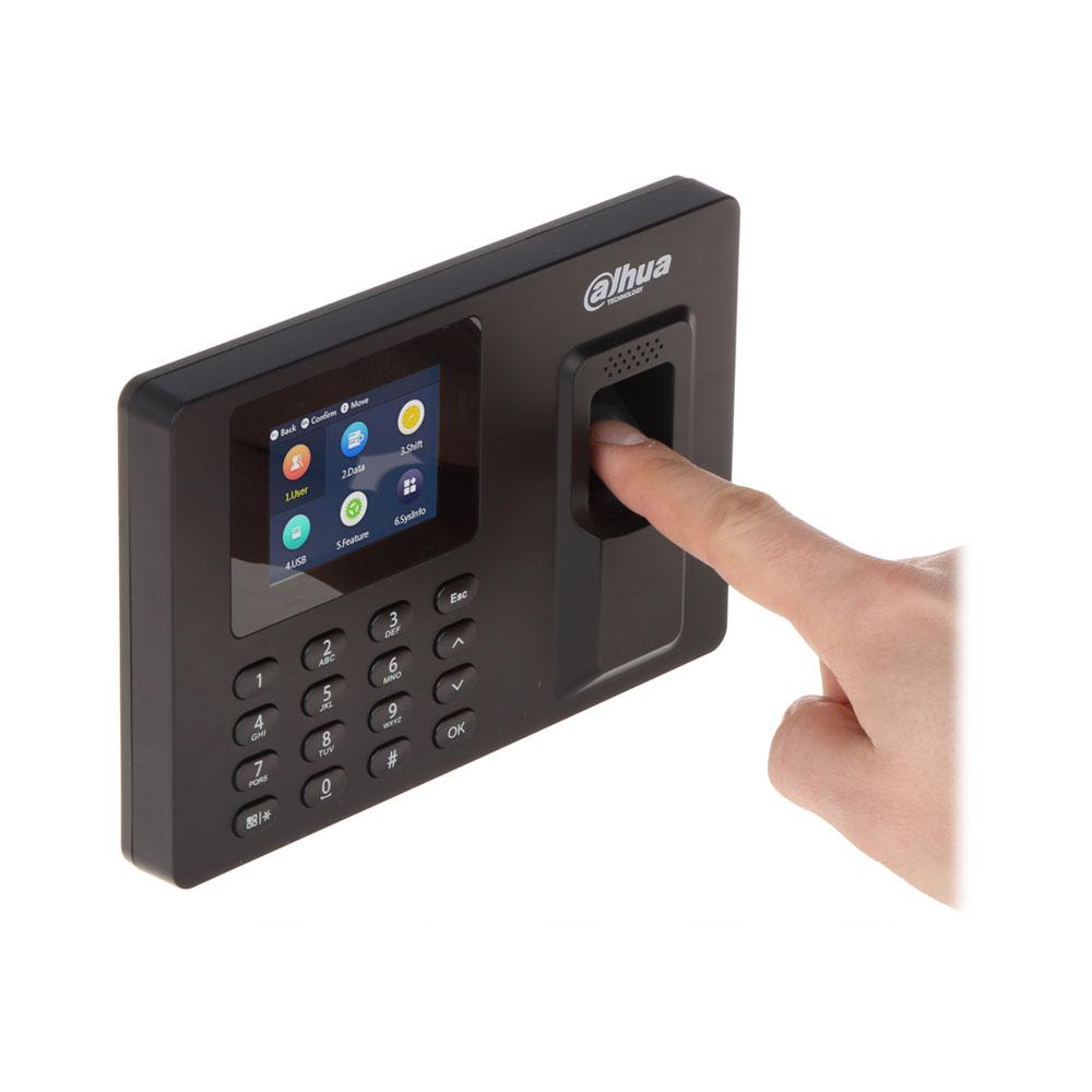 Cititor biometric de interior IP Dahua ASA1222E-S, PIN/amprenta, 1000 utilizatori imagine