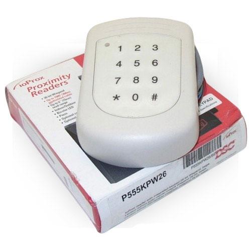 Cititor de proximitate cu tastatura DSC P555KPW26, Wiegand imagine spy-shop.ro 2021