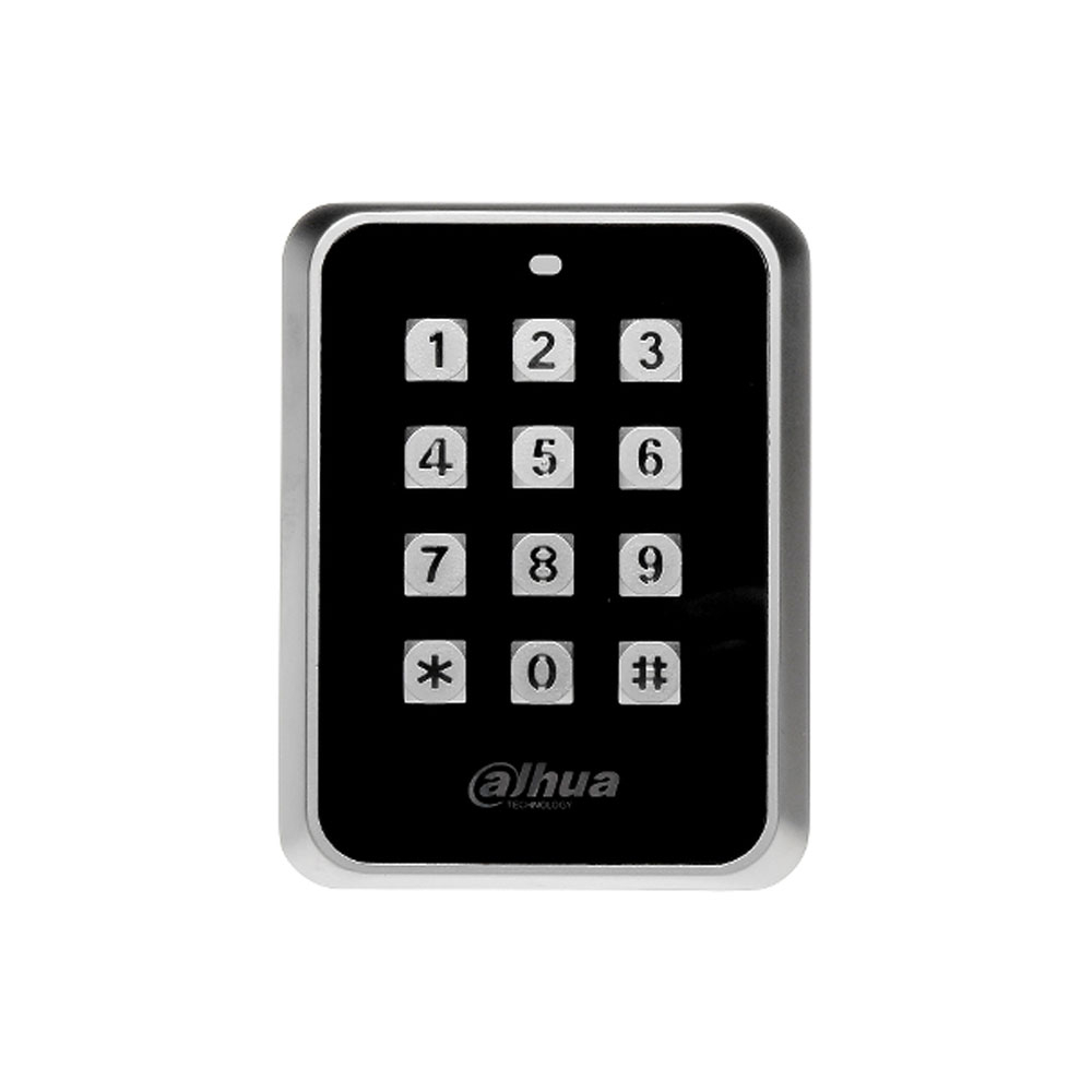 Cititor de proximitate cu tastatura RFID Dahua ASR1101M, PIN/card, Mifare, 13.56 MHz, watch dog imagine