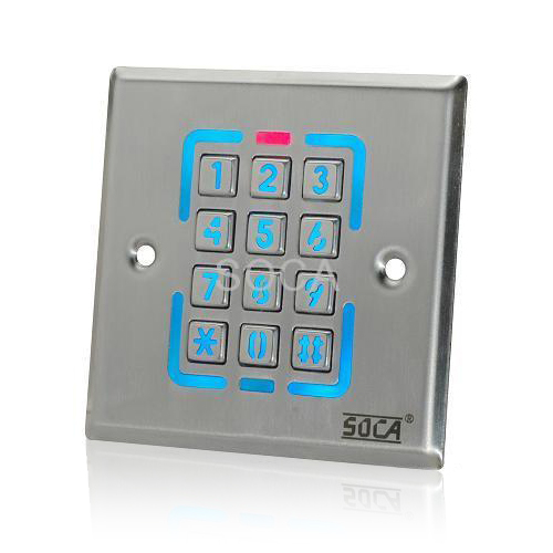 Cititor de proximitate cu tastatura Soca ST-226, 125 KHz, 1000 carduri, 12 V imagine spy-shop.ro 2021