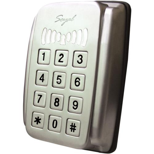 Cititor de proximitate cu tastatura Soyal AR-321 HBR1111, 1024 cartele, 1200 evenimente imagine spy-shop.ro 2021