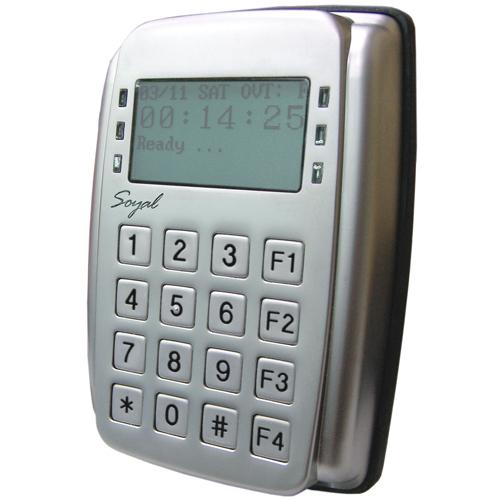 Cititor de proximitate cu tastatura Soyal AR-327 HBR1111 TOUCH, 1024 utilizatori, 1200 evenimente, 12 V imagine spy-shop.ro 2021