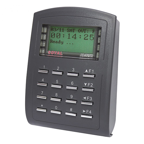 Cititor de proximitate cu tastatura Soyal AR-727 HBRA 121, 1024 utilizatori, 1200 evenimente, 12 Vdc imagine spy-shop.ro 2021