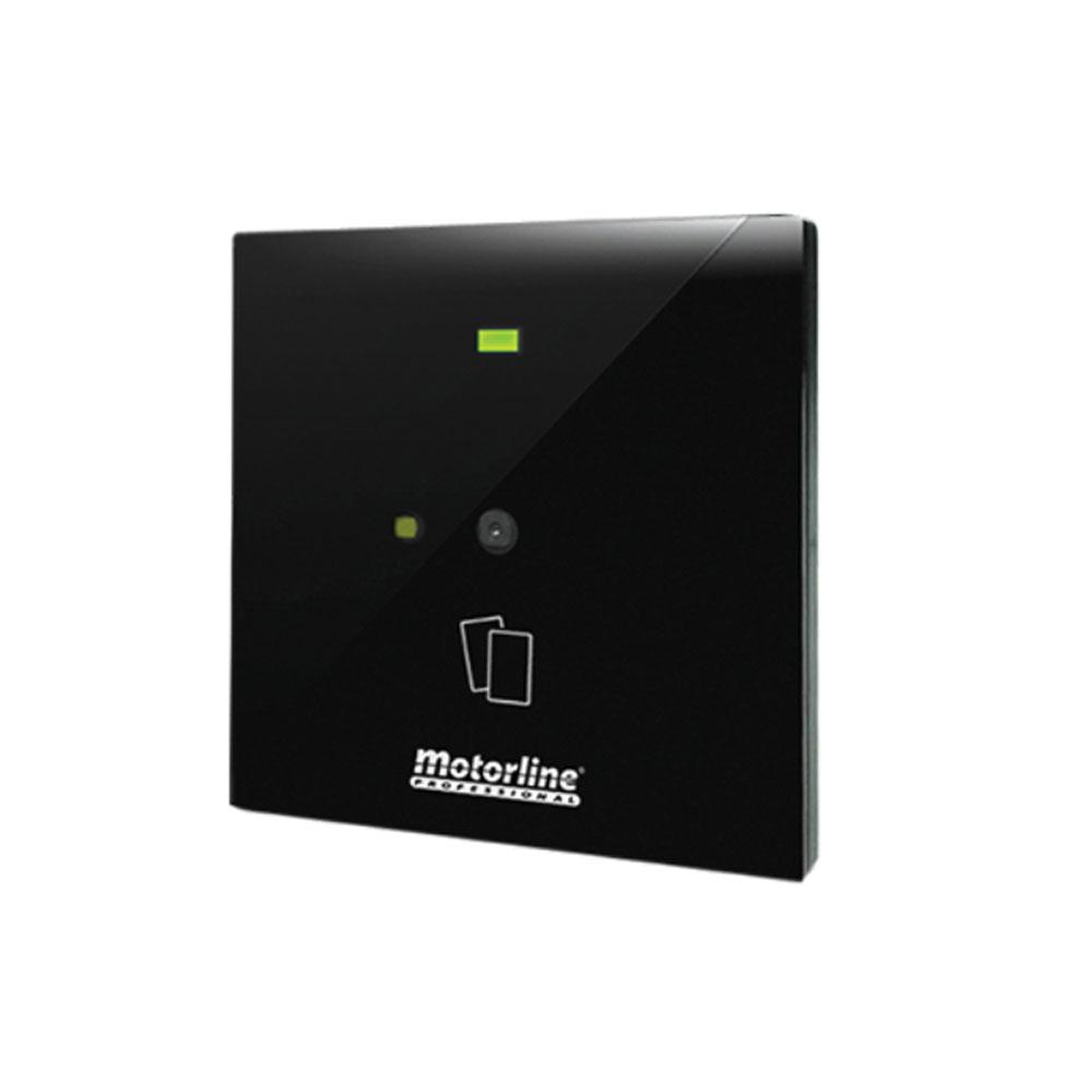 Cititor de proximitate pentru interior Motorline MPXRQ1MWS, RS485, Mifare, cod QR
