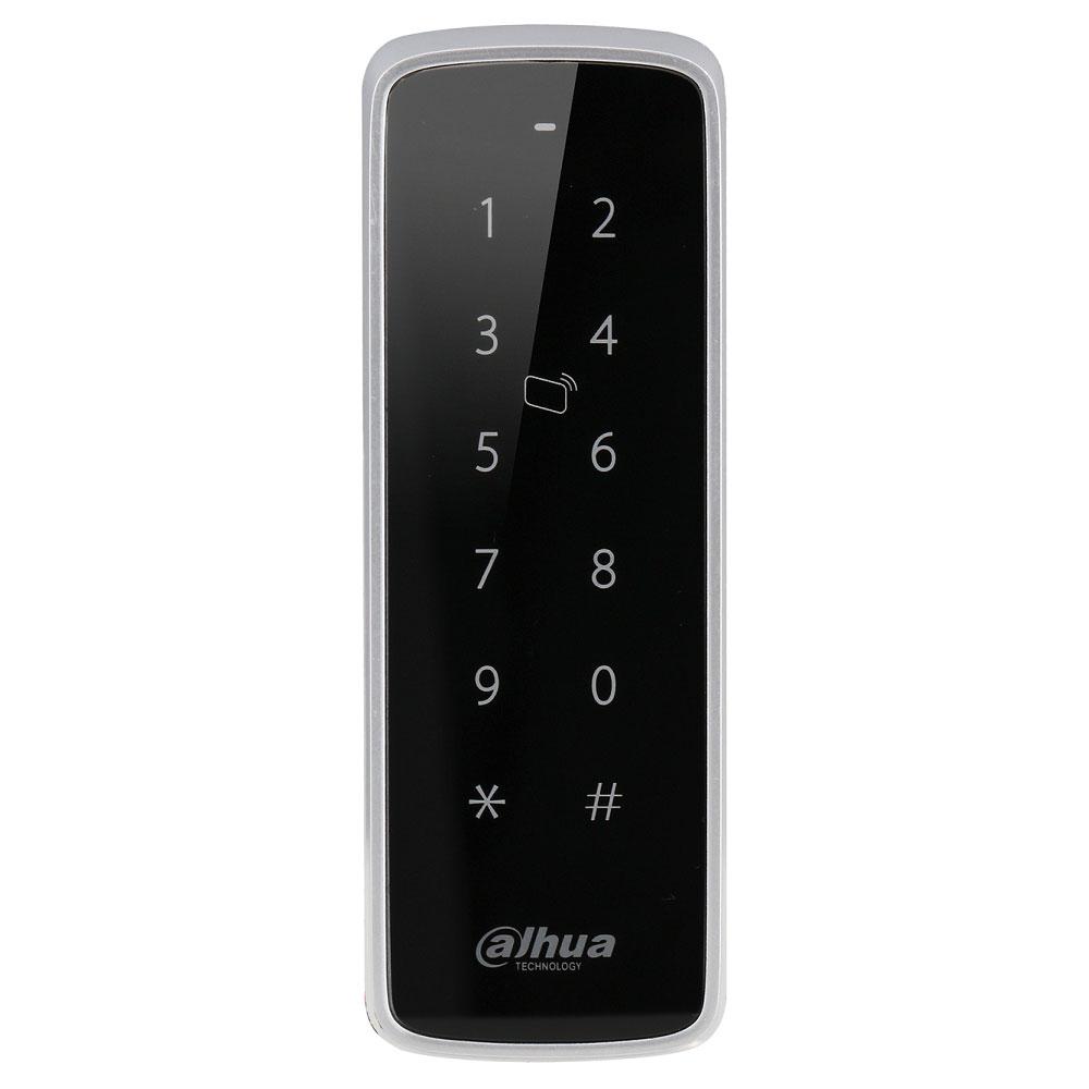 Cititor de proximitate RFID cu tastatura Dahua ASR1201D-D, EM-ID 125 KHz, IP 65, interior/exterior imagine