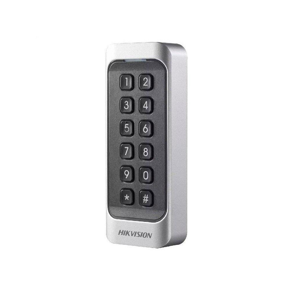 Cititor de proximitate RFID cu tastatura Hikvision DS-K1107MK, Mifare, 13.56 MHz, interior/exterior