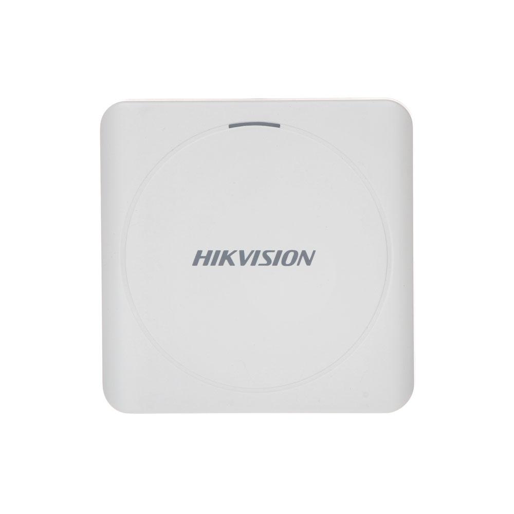 Cititor de proximitate RFID Hikvision DS-K1801M, Mifare, 13.56 MHz, interior/exterior