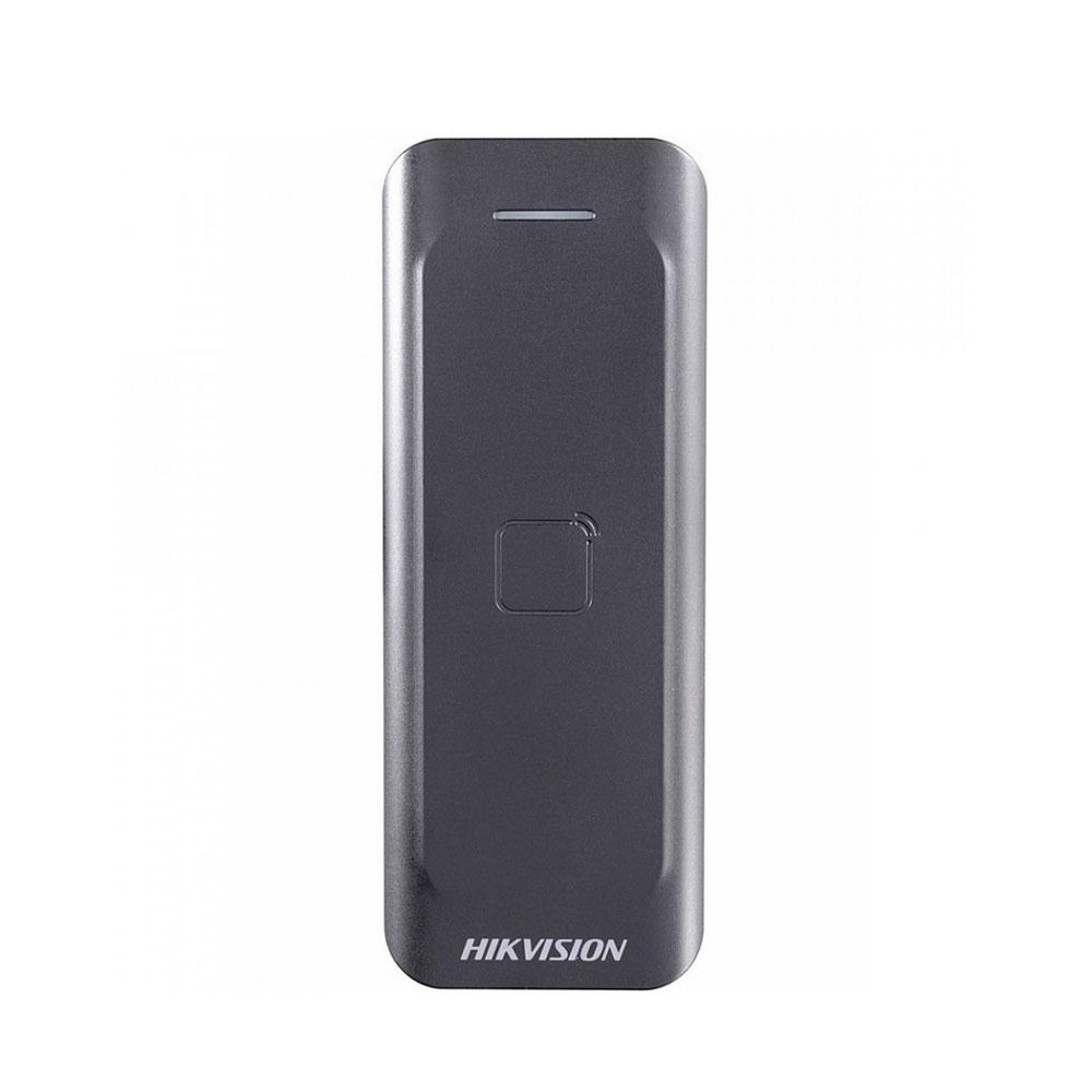 Cititor de proximitate RFID Hikvision DS-K1802E, EM, 125 KHz, interior/exterior imagine