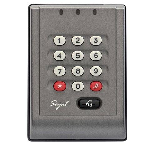 Cititor de proximitate Soyal AR-757 HDR 1121, 3000 tranzactii, 1024 utilizatori, Mifare imagine spy-shop.ro 2021