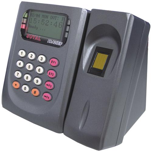 Cititor de proximitate biometric Soyal AR 821EFBI-900MT, 125 KHz, 2250-4500 utilizatori imagine