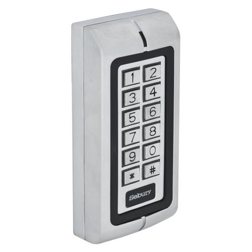 Cititor de proximitate stand alone/controler cu tastatura Sebury W1-B, Wiegand 26, RFID, IP68