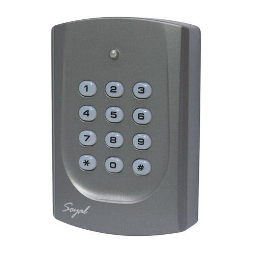Cititor de proximitate cu tastatura Soyal AR 721 KP, 500 coduri, 2 iesiri, 2 intrari imagine spy-shop.ro 2021