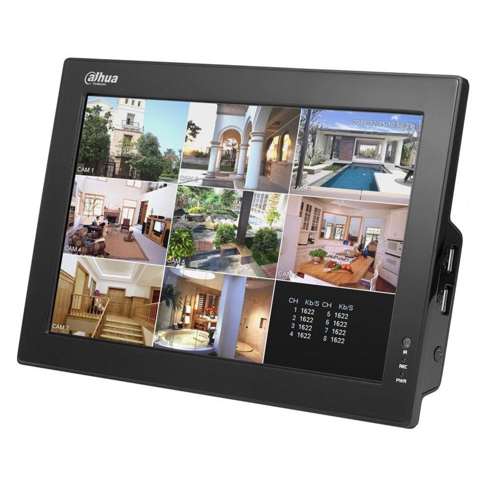 COMBO DVR 8 CANALE VIDEO D1 SI LCD DAHUA DH-CVR0804-10