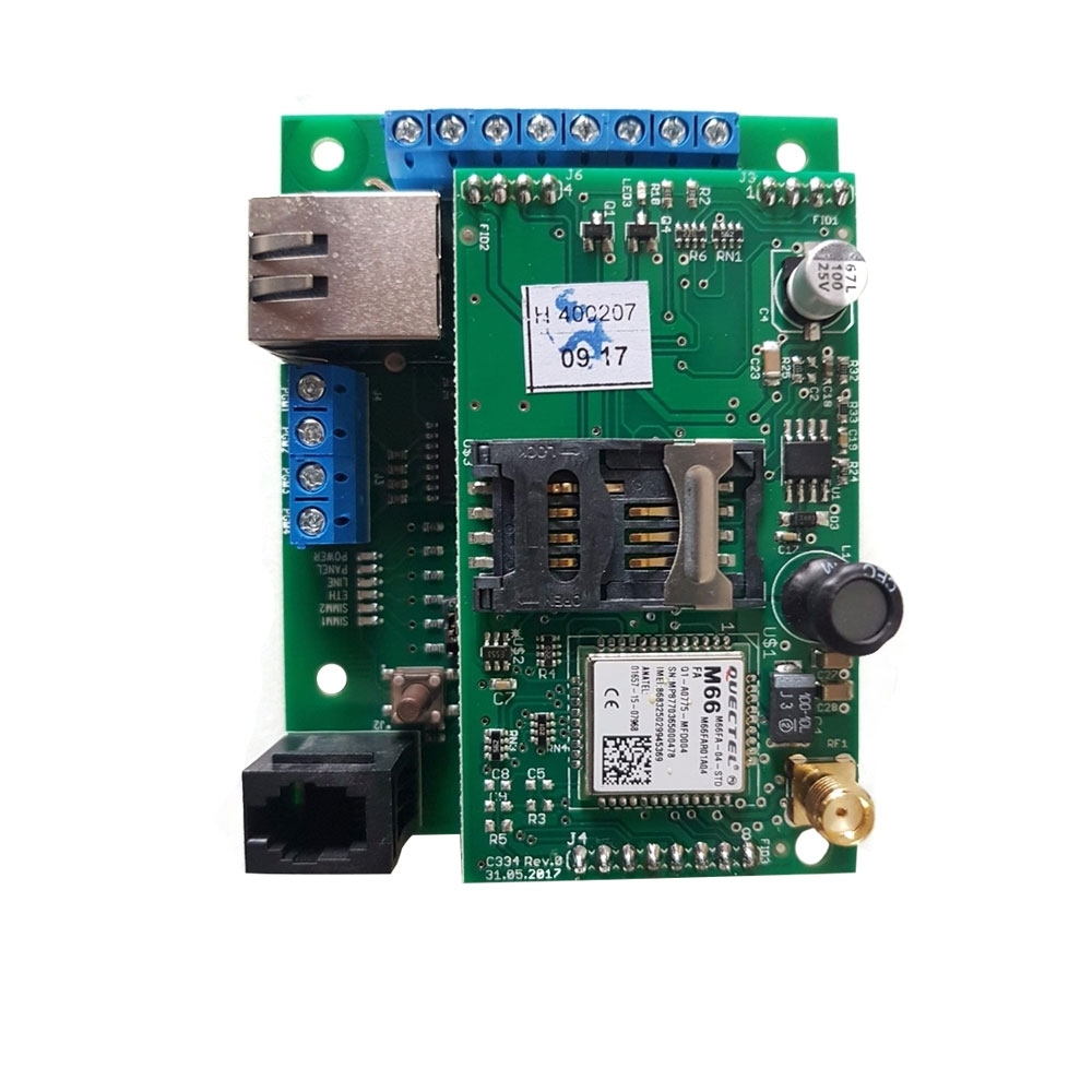 Comunicator Cerber MultiCOMM IP/GPRS - s PCB, format ADEMCO imagine spy-shop.ro 2021
