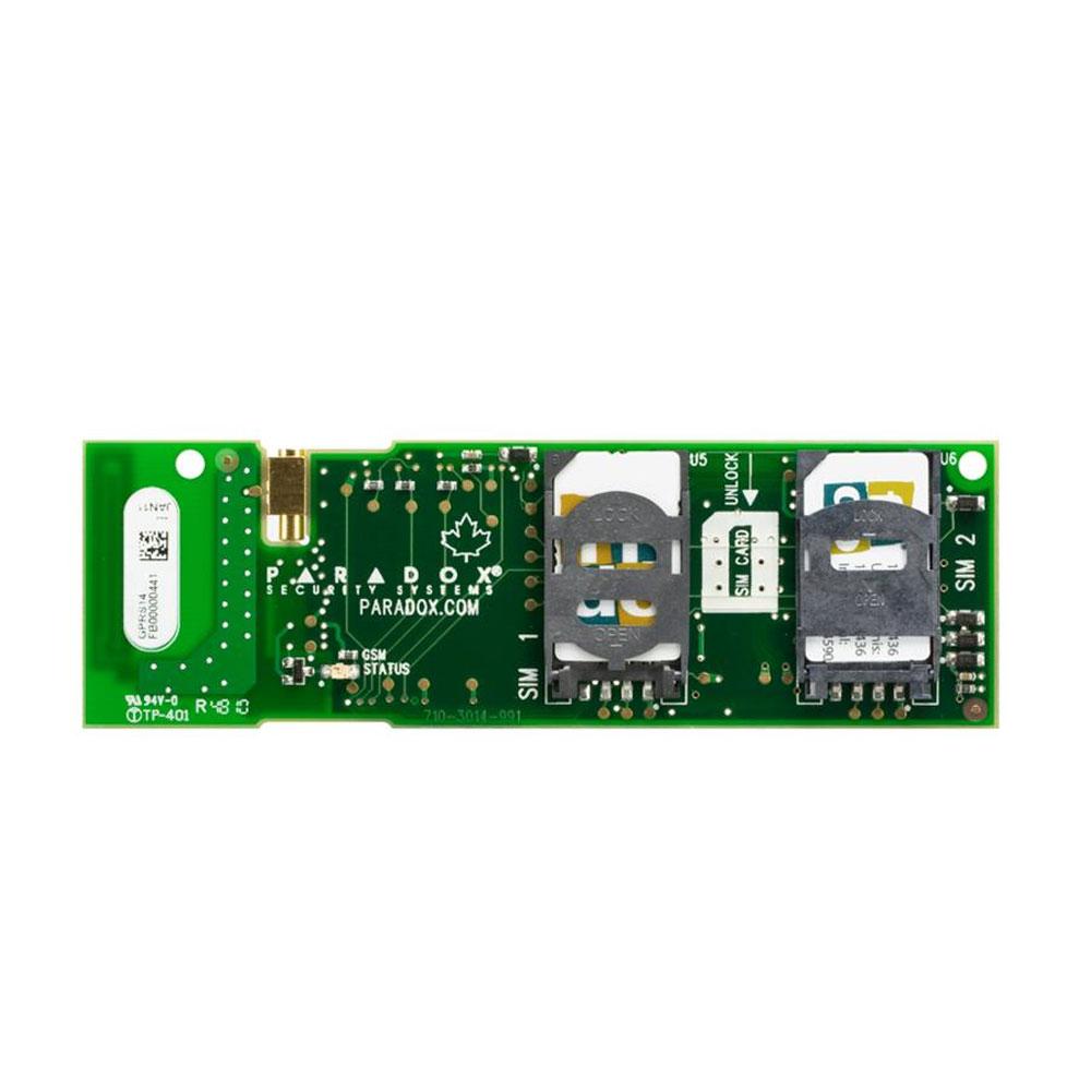 Comunicator GSM Paradox GPRS14, 2 SIM, compatibil MG6250 imagine spy-shop.ro 2021