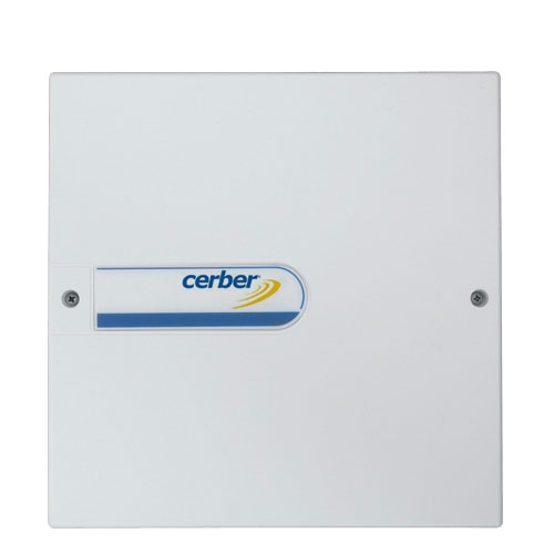 Comunicator universal Cerber MultiCOMM IP/GPRS - u PSAUX, carcasa, transformator, sursa imagine spy-shop.ro 2021
