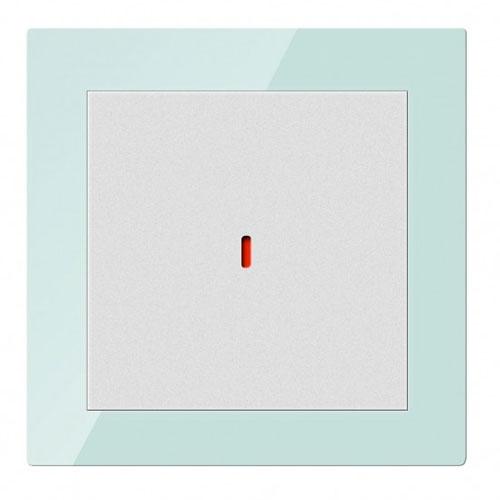 Comutator inteligent CHKP-01/01.1.10, 1 canal, sticla, secvente programabile