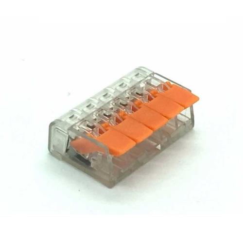 Conector PCT-415 pentru 5 fire 0.75 - 2.5 mm2, 10 BUC imagine spy-shop.ro 2021