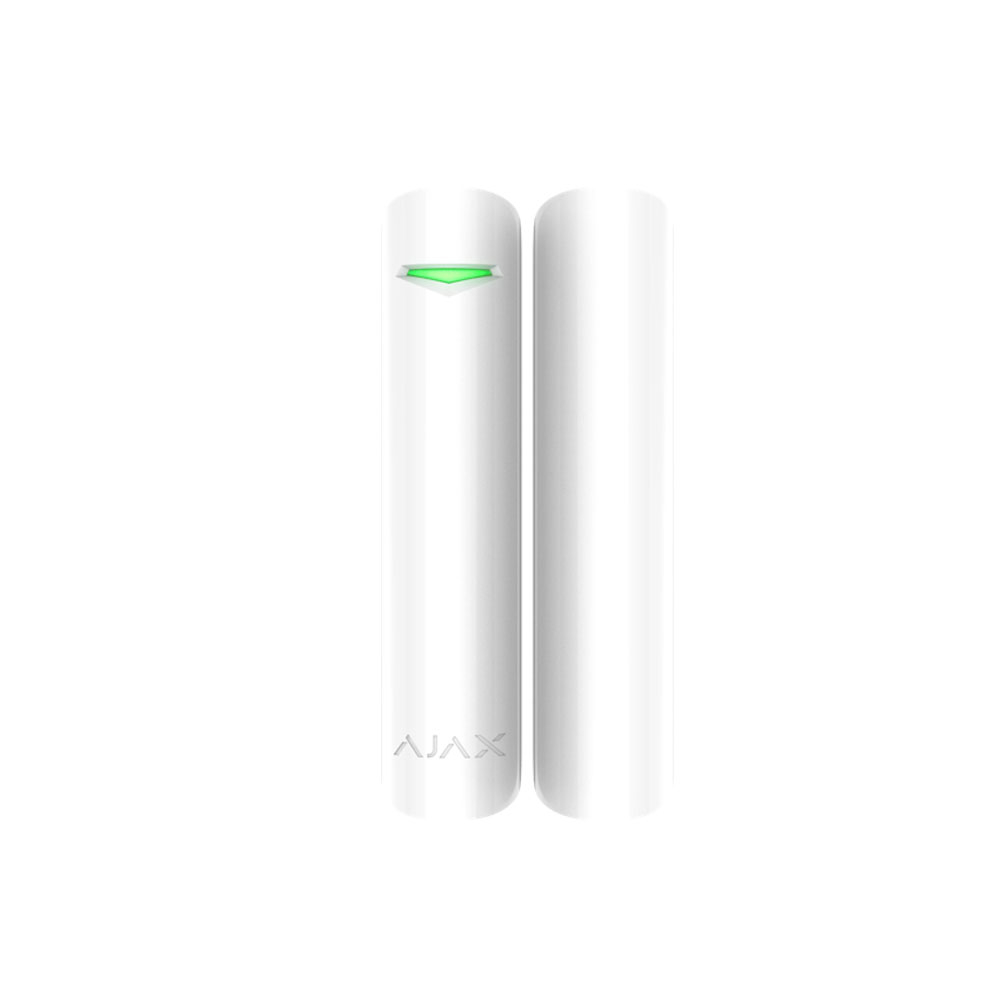 Contact magnetic usa/fereastra wireless AJAX DoorProtectPlus WH, senzor inclinare, senzor vibratii, 1200 m imagine spy-shop.ro 2021