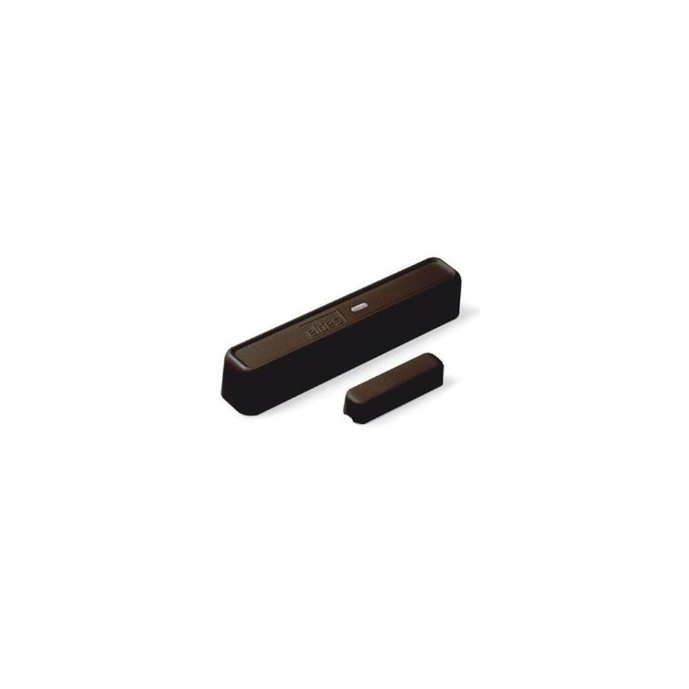Contact magnetic wireless cu senzor de vibratii Eldes EWD3-BR, aparent, RF 3000 m, maro