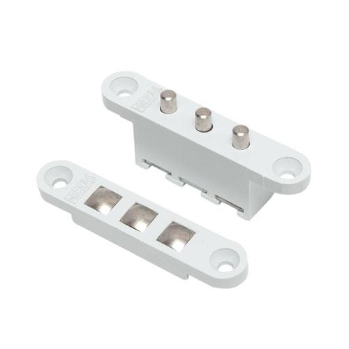 Contact mecanic pentru alimentare incuietori DORCAS-3C-wh, tripolar, 3 contacte, ingropat imagine spy-shop.ro 2021