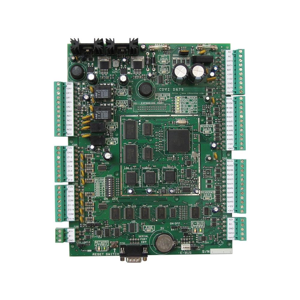 Controler acces CDVI Centaur CT-V900-PCB, 16 intrari, 10.920 carduri, 2048 evenimente