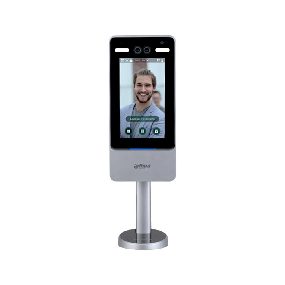 Controler de acces facial IP Dahua ASI7223Y-A-V3, facial/parola, 50.000 utilizatori, 50.000 parole, 100.000 evenimente