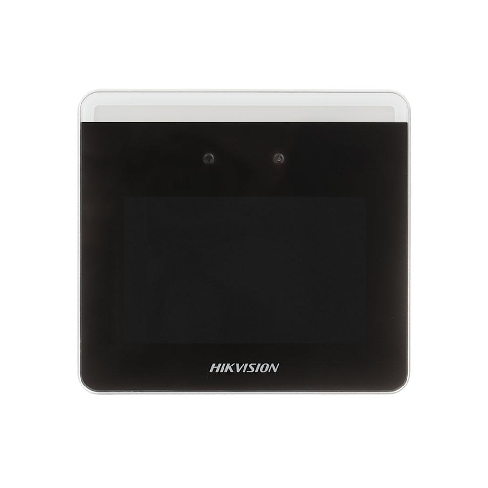 Controler de acces facial IP WiFi Hikvision DS-K1T331W, 2 MP, ecran tactil, 3.97 inch, 1.000 fete, 150.000 evenimente
