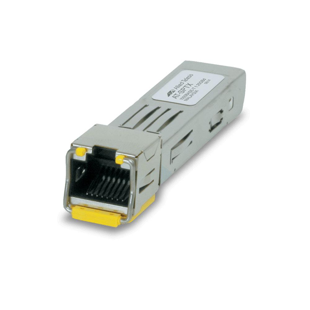 Convertor de retea media Allied Telesis AT-SPTX, 1 port RJ45, SFP, 1250 Mbps, 100 m