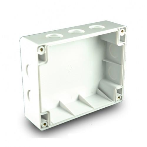 Cutie montaj pentru modulele CHQ Hochiki CHQ-BACKBOX, 10 intrari cablu, IP65 imagine spy-shop.ro 2021