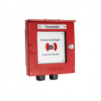 BUTON DE INCENDIU CONVENTIONAL DETECTOMAT CT 3300 PDB-IP66-R