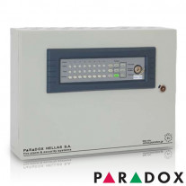 CENTRALA DE INCENDIU CU 4 ZONE PARADOX HELLAS MATRIX PH.MR.004.04