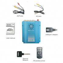 DVR AUTO CU 2 CANALE VIDEO DTY MD12