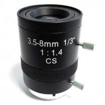 LENTILA VARIFOCALA DE 3.5-8 MM CU IRIS MANUAL MTX 0358 F