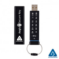 STICK USB 8GB CU CRIPTARE PROFESIONALA AEGIS SECURE KEY APRICORN ASK-256-8GB